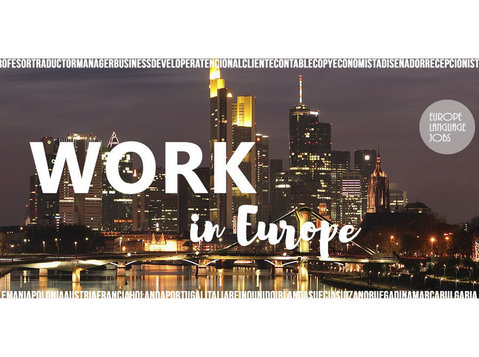 Europe Language Jobs - Recruitment agencies