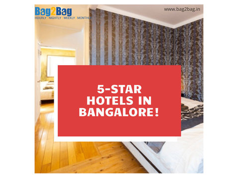 5 Star Hotels in Bangalore - Hotels & Hostels