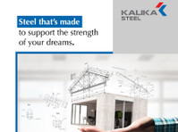 Kalikasteels : Steel manufacturing companies in jalna (3) - Construction Services