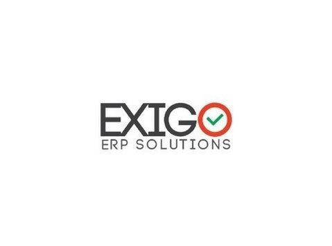 Exigo ERP Solutions - Webdesign