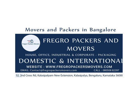Fregro Packers and Movers - Removals & Transport