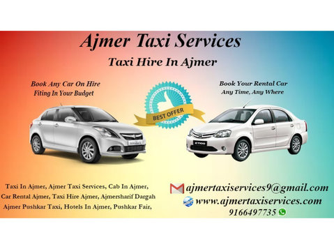 Ajmer Taxi Services - Travel Agencies
