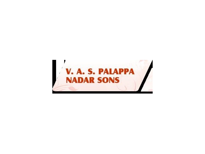 V.A.S. Palappa Nadar Sons - Import/Export