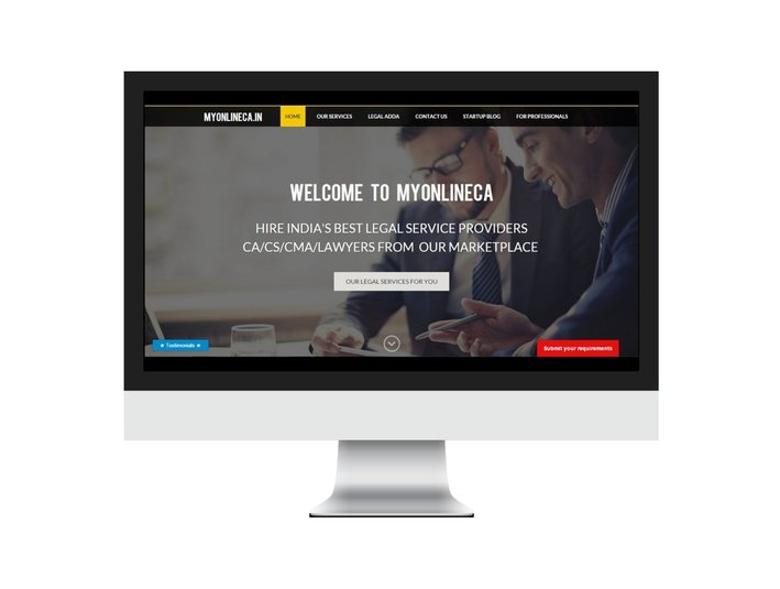 MyOnlineCA.in (Done your legal work Online) - Business Accountants