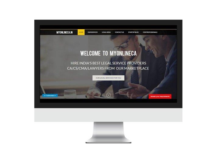 MyOnlineCA.in (Done your legal work Online) - Business Accountants