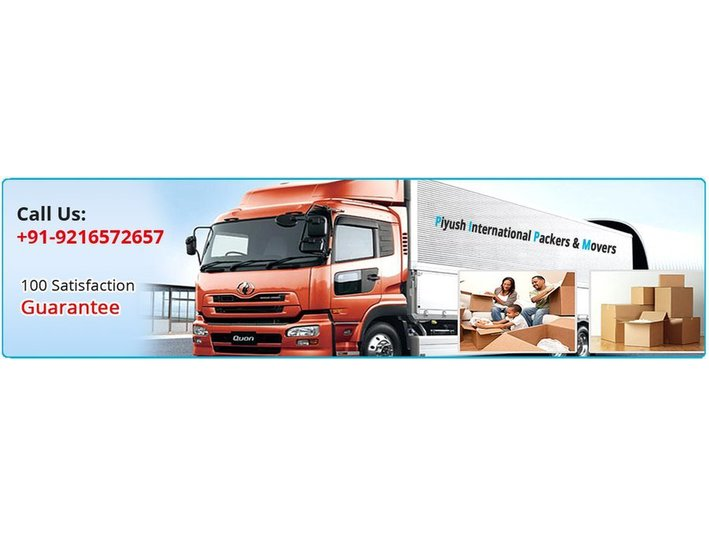 Piyush International Packers and Movers - Removals & Transport