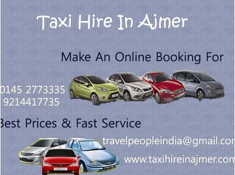 Taxi Hire In Ajmer - Taxi Companies