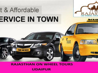 Rajasthan on Wheel Tours (4) - Compañías de taxis