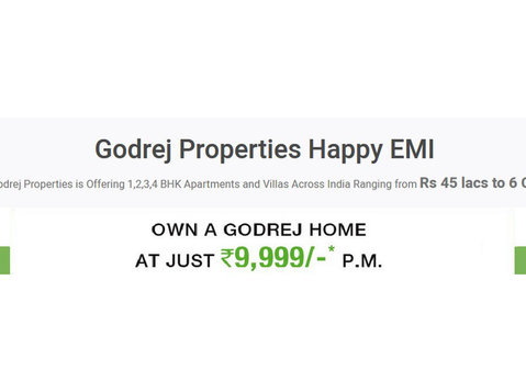 Godrej Happy Emi - Serviced apartments
