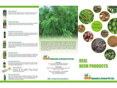 UNO NATURALS & GREENS PVT LTD - Import/Export