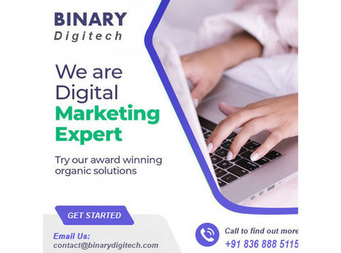 BinaryDigiTech - Webdesign