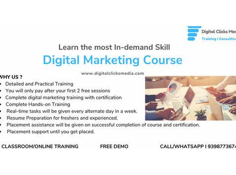 Digital Clicks Media - Coaching & Training