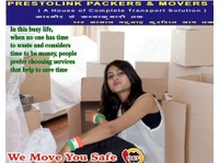 Prestolink Packers & Movers Pvt. Ltd. (1) - Relocation services