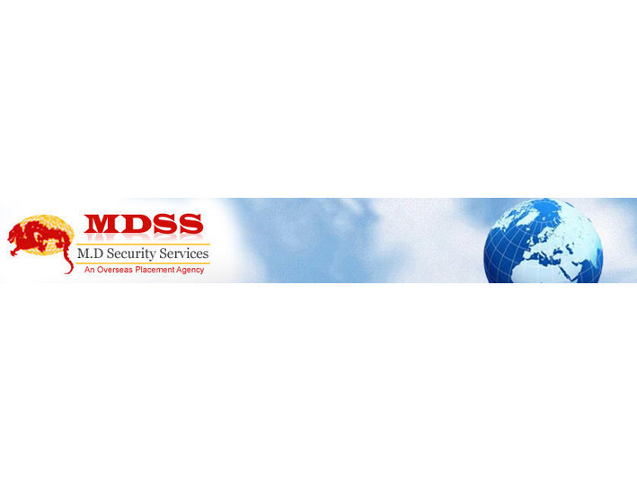 MDSS - Recruitment agencies
