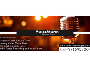 Voice Over Artist, E-learning services, film dubbing VO. - TV, Radio & Print Media