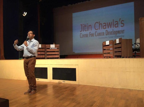 Jitin Chawla's Centre for Career Development - Universities