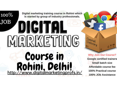 Digital Marketing course Rohini Delhi - Marketing & PR