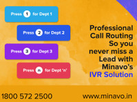 IVR Service Provider-Vagent by Minavo™ Telecom Networks (2) - Conference & Event Organisers
