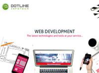 Web Development Company in Noida – Dotline Infotech (1) - Webdesign