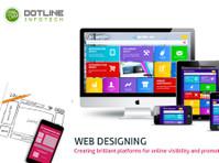 Web Development Company in Noida – Dotline Infotech (2) - Webdesign