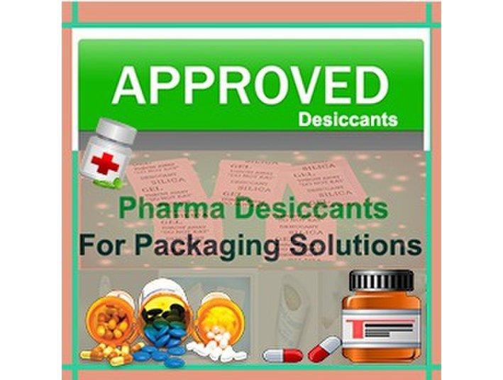 Pharmaceutical Desiccants - Sorbead India - Farmacias