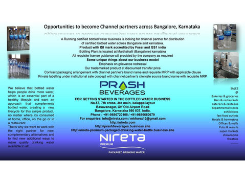 Prash beverages - Business & Networking