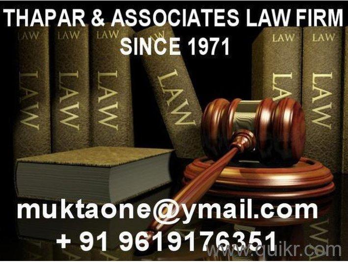 Family dispute lawyer  Advocate Thapar & Associates Law Firm - Commercial Lawyers