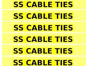 Cable Ties India - Import/Export