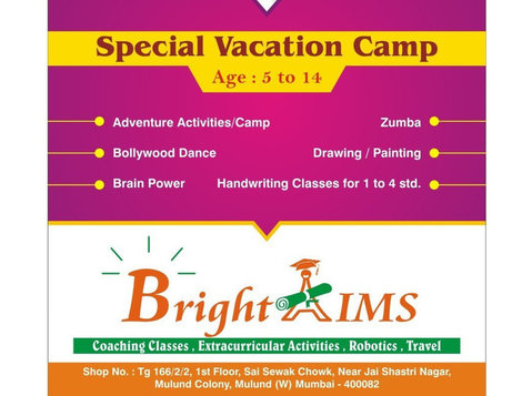 Bright Aims - Playgroups & After School activities