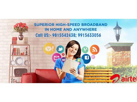 Airtel Broadband Connection Chandigarh Mohali - Internet providers