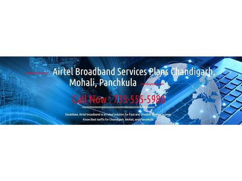 Airtel Broadband in Chandigarh - Internet providers