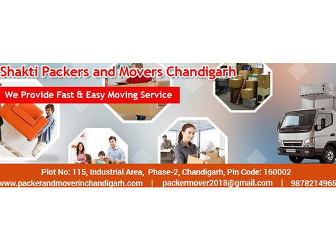 Shakti Packers and Movers - Relocation services