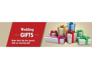 Wedding Gifts - Buy Wedding Gifts Online at Thedivineluxury - Gifts & Flowers