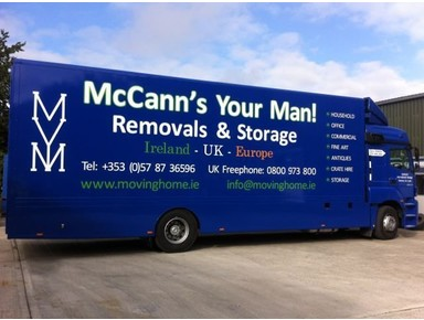 Mccann's Your Man Removals Services Ltd. - Removals & Transport