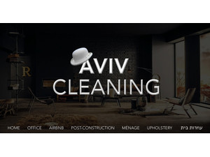 Aviv Cleaning Services 054-5559523 Tel Aviv Cleaning Service - Cleaners & Cleaning services