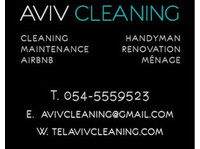 Aviv Cleaning Services 054-5559523 Tel Aviv Cleaning Service (5) - Cleaners & Cleaning services