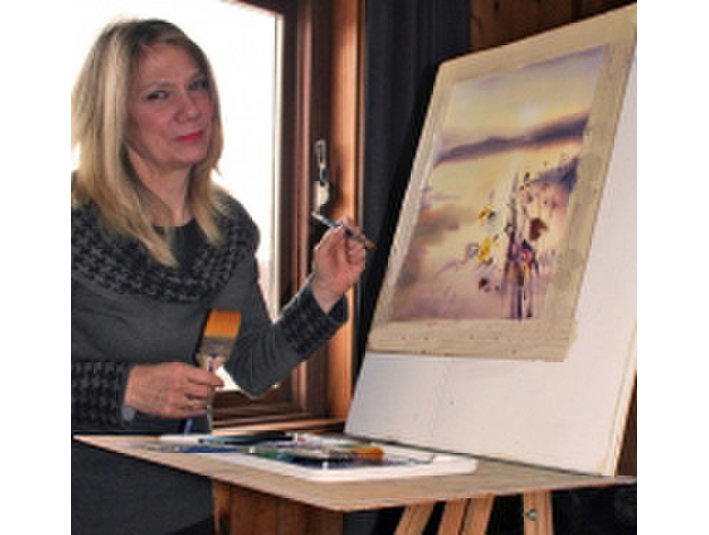 Peggy Burkosky, Art instructor / Exhibitor - Sites Expat