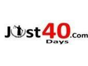 Just40days - TV, Radio & Print Media