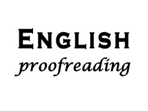 English Proofreading and Editing - Übersetzungen