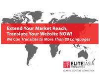 Elite Translations (M) Sdn Bhd (1) - Translations