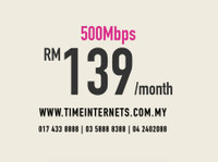 Time internet   100mbps Only Rm99 Easy and Fast Approval (3) - Internet providers
