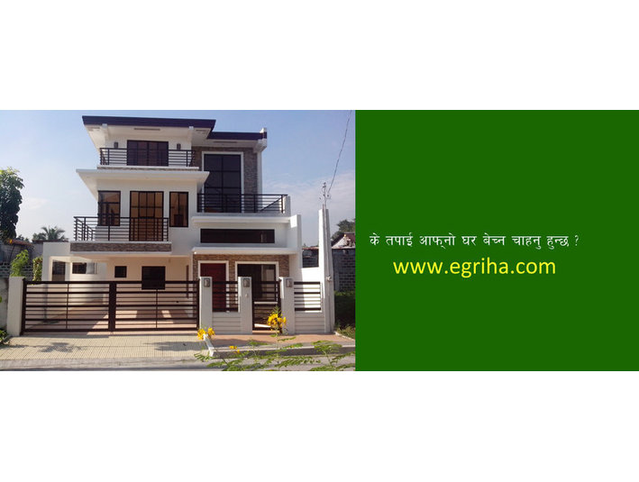 Real Estate in Nepal- Egriha.com - Rental Agents