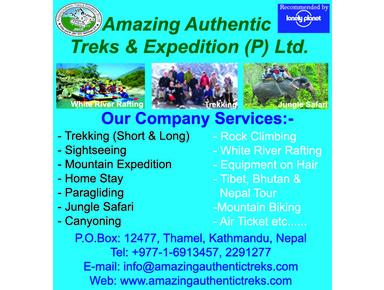Amazing Authentic Treks & Expedition (P) Ltd. - Advertising Agencies