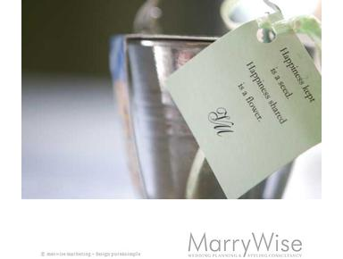 MarryWise, wedding planning & styling consultancy - Consultancy