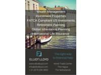 Elliot Lloyd - Financial consultants