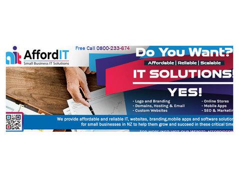 AFFORDIT - Webdesign