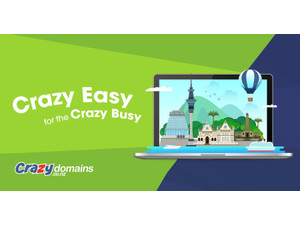 Crazy Domains NZ - Hosting & domains
