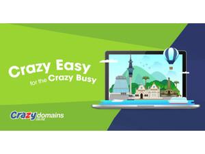 Crazy Domains NZ - Hosting & domains