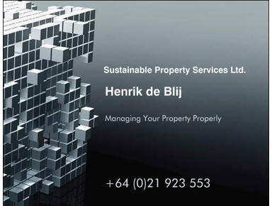 Sustainable Property Services - Accommodation services