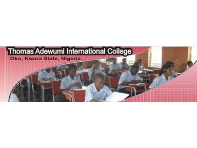 Thomas Adewumi International College - International schools